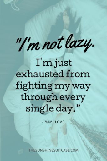 Mimi Love Im not Lazy quote