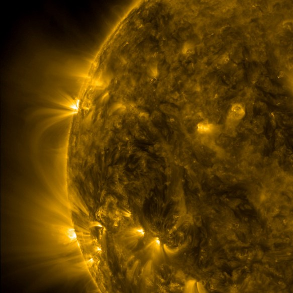 Extreme Ultraviolet Loops Observed with SDO