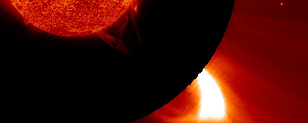 Mercury Bound CME in LASCO/C2