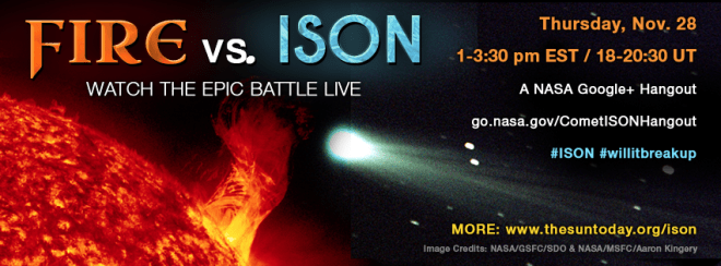 Facebook Cover - Comet ISON