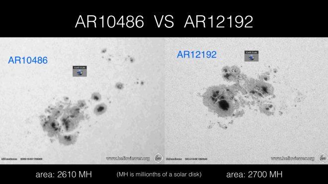 AR10486 vs AR12192