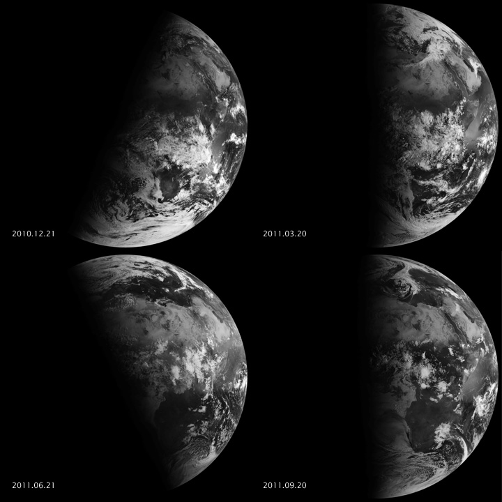 Seeing Equinoxes and Solstices from Space - CREDIT: NASA Goddard