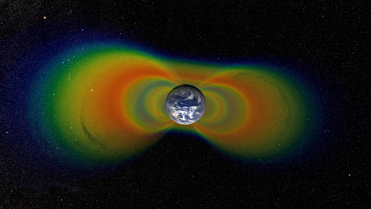 Layers of fast, energetic particles surround the planet with radiation—and scientific questions.