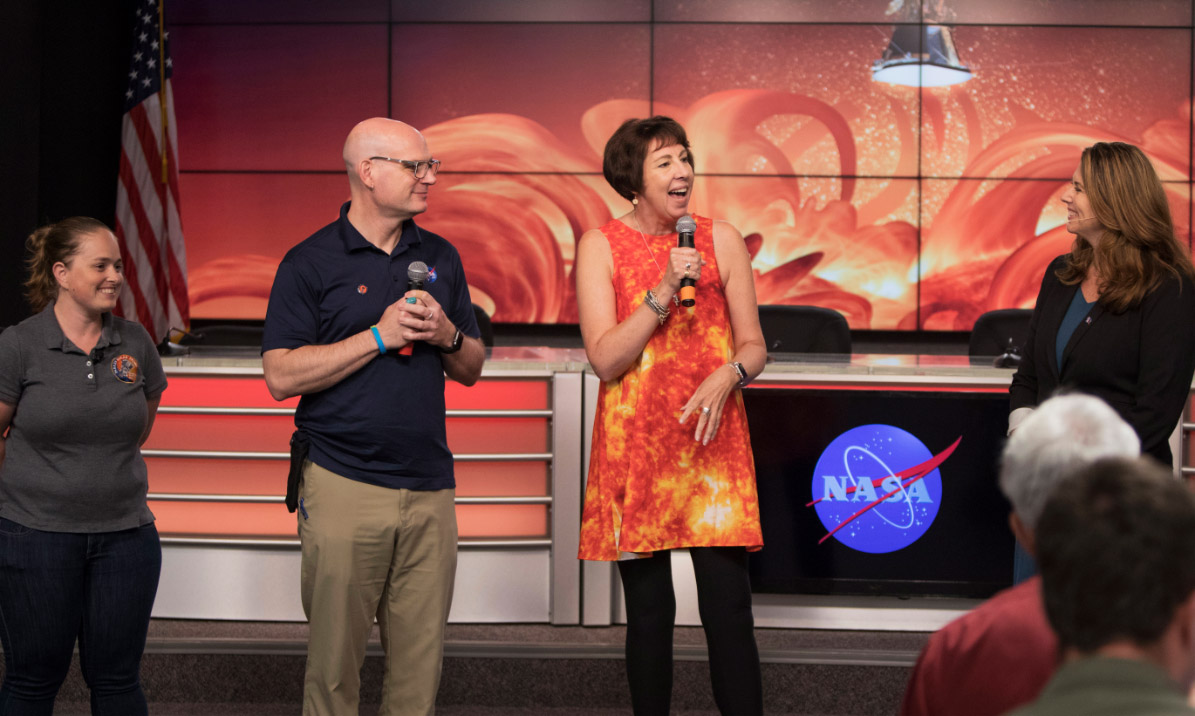 NASA Coverage for Parker Solar Probe - Photo credit: NASA/Frank Michaux