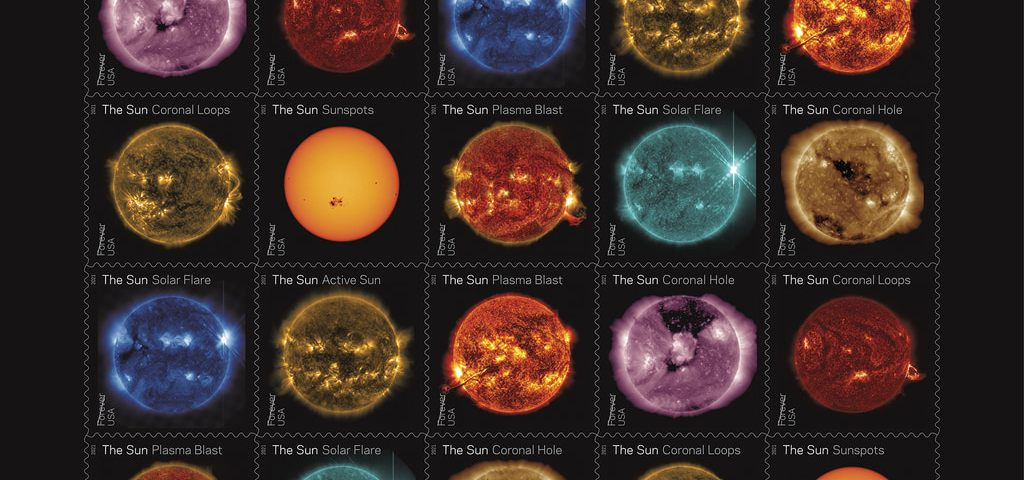 USPS Stamps Featuring NASA's Solar Dynamic Observatory