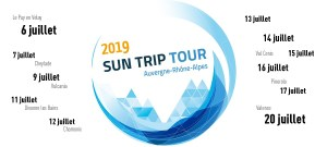 Where to see Sun Trip Tour 2019