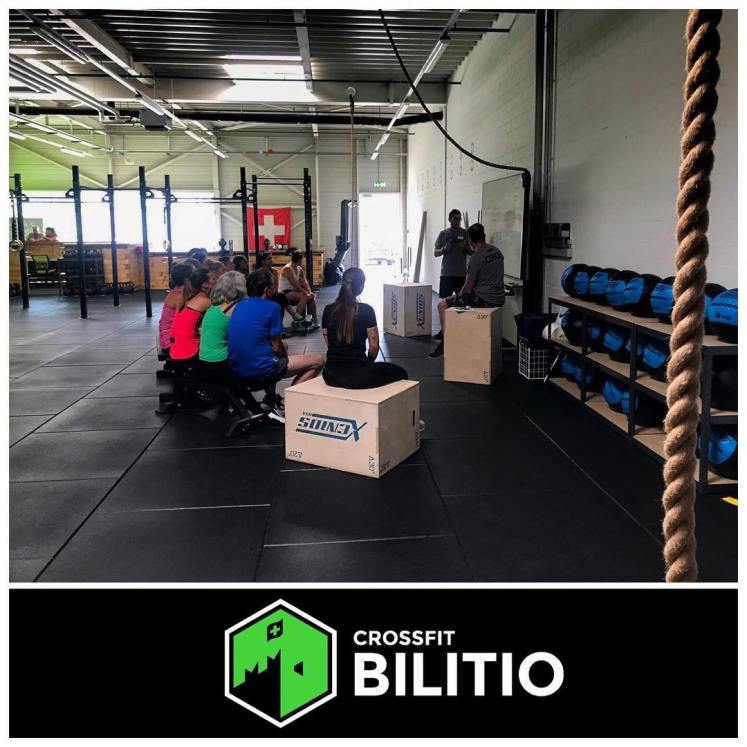 Box CrossFit Bilitio - Svizzera | The SunWod