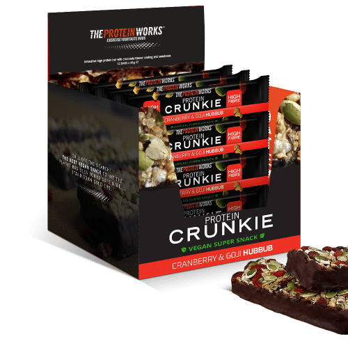 PROTEIN CRUNKIES THE PROTEIN WORKS