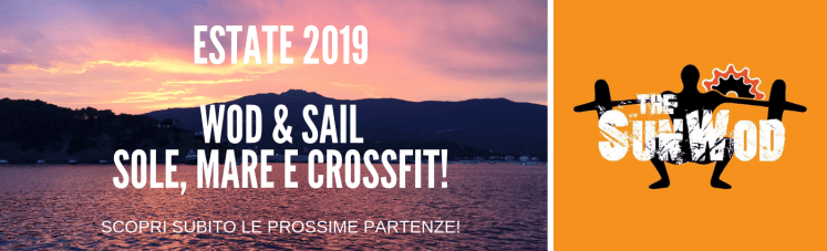 ESTATE: Vacanze in barca a vela tra sole, mare e CrossFit! Wod and Sail con The SunWod!