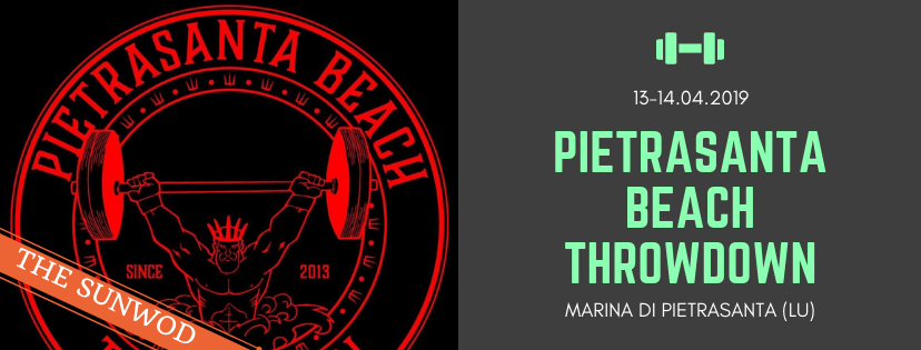 Pietrasanta Beach Throwdown