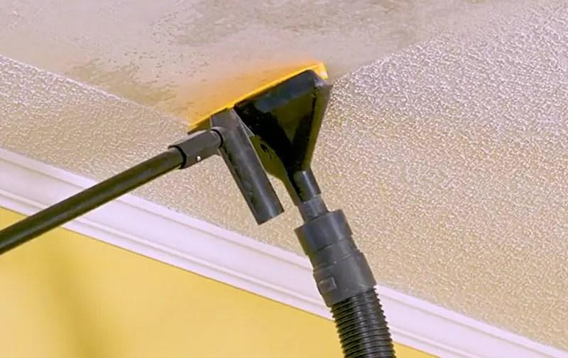 Popeeze Popcorn Ceiling Scraper With Vacuum Attachment Thesuperboo