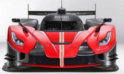 Ferrari LMP1 by Daniele Pellig