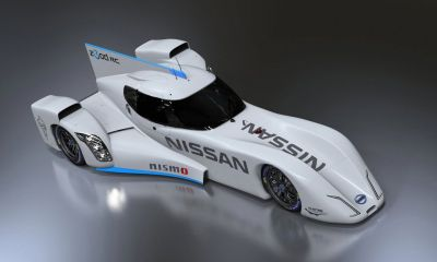 Nissan ZEOD RC race car