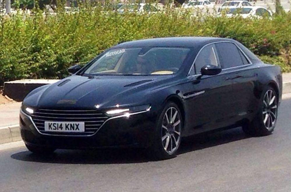 Aston Martin Lagonda spy shot-1