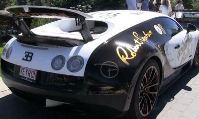 Bugatti Veyron SS Pur Blanc