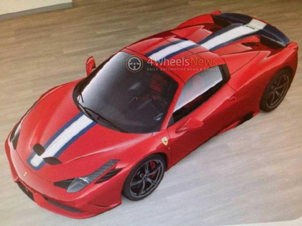 Ferrari 458 Speciale Spider (458 VS Spider)
