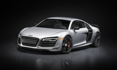Audi R8 Competition front angle