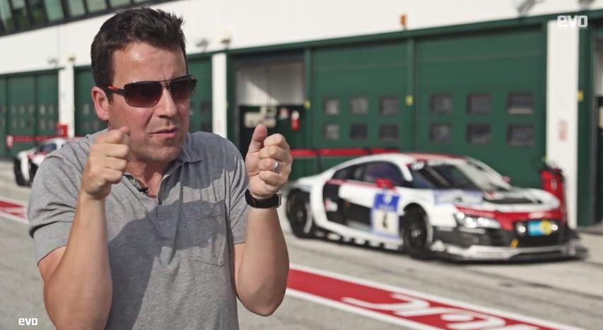 EVO drives Audi R18 e-tron Quattro LMP1 car