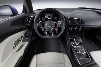 Audi R8 V10 - interior
