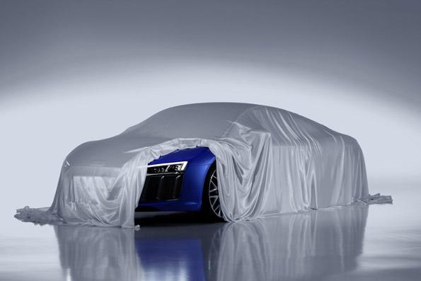 New Audi R8 taeser image