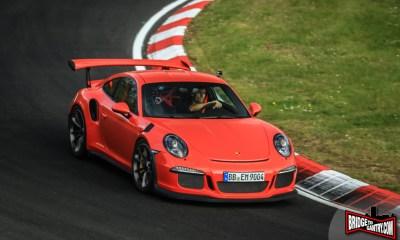Mark Webber testing Porsche 911 GT3RS at Nurburgring 1