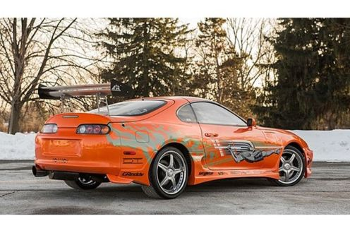 Toyota Supra- Fast and the Furious-3