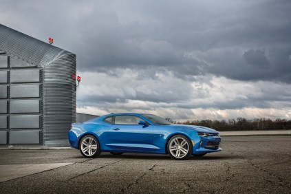 2016 Chevrolet Camaro RS launch 1
