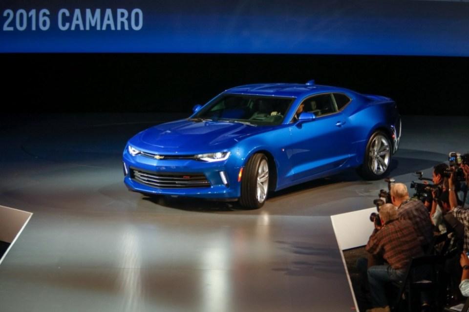 2016 Chevrolet Camaro launch 3