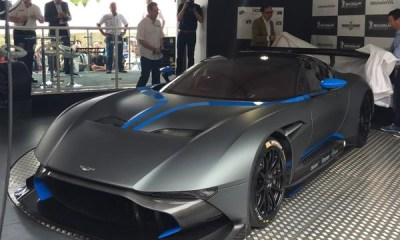 Aston Martin Vulcan at Goodwood FOS
