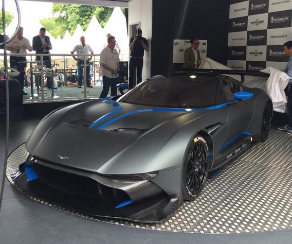 Aston Martin Vulcan at Goodwood FOS