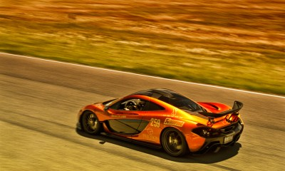 Mclaren P1 goldrush Rally
