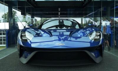 2016 Ford GT front view