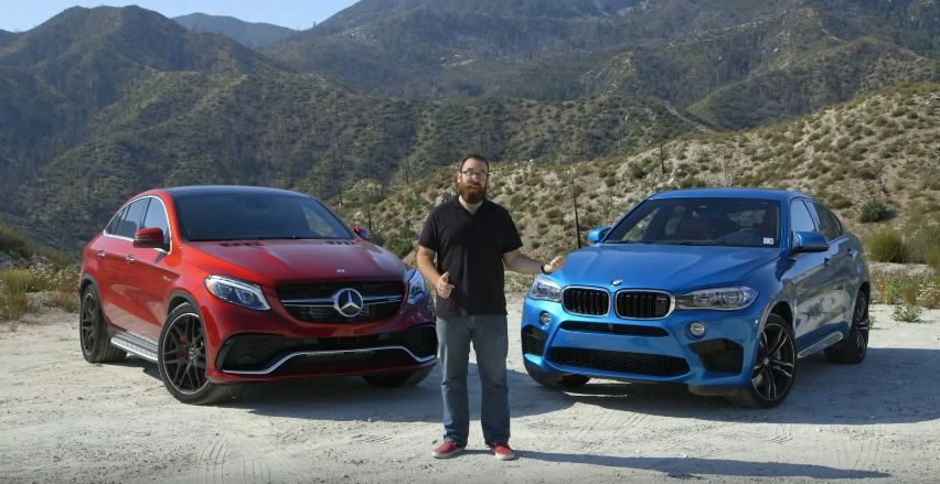 BMW X6M vs Mercedes-AMG GLE63 S Coupe