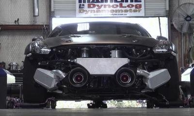 T1 Nissan GT-R R35 record dyno run