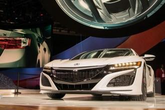 Acura NSX- 2016 Detroit Auto Show-2