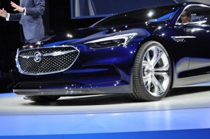 Buick Avista Concept 2016 Detroit Auto Show
