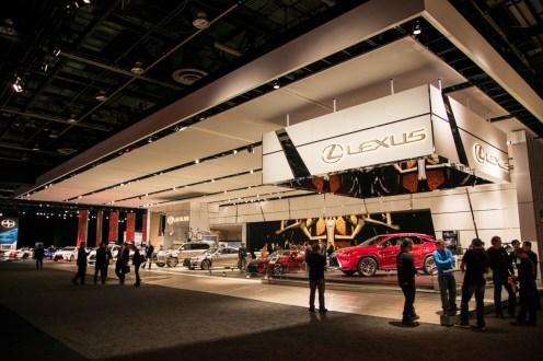 Lexus- 2016 Detroit Auto Show