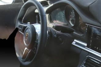 2017 Porsche Panamera caught testing in the US- interior-4