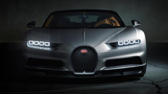 Bugatti Chiron Official Image- 2016 Geneva Motor Show-4