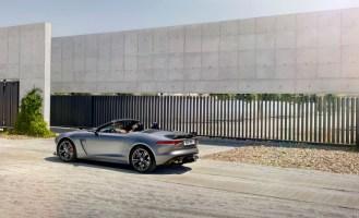 Jaguar F-Type SVR Convertible-2016 Geneva Motor Show-11
