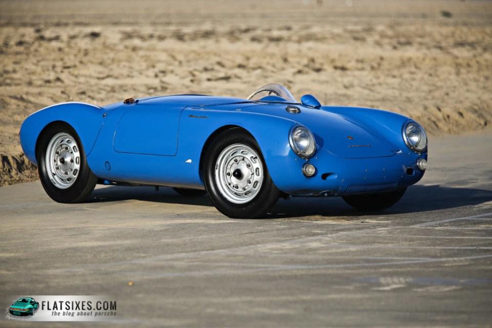 Jerry Seinfeld's Porsche Collection-1955 Porsche 550 Spyder