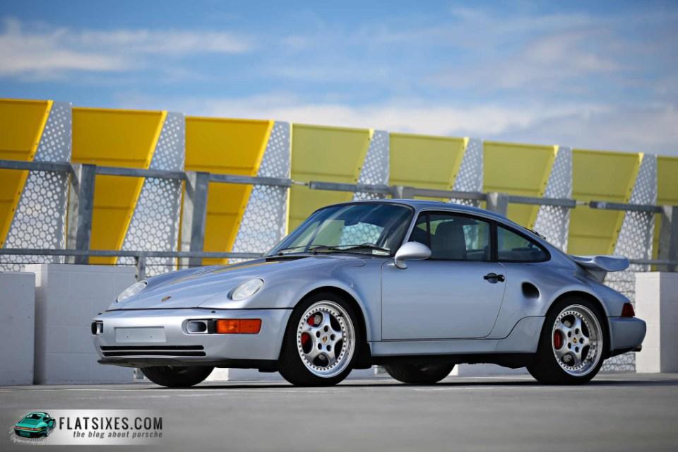 Jerry Seinfeld's Porsche Collection-1994 Porsche 964 Turbo 3.6 S Flachbau