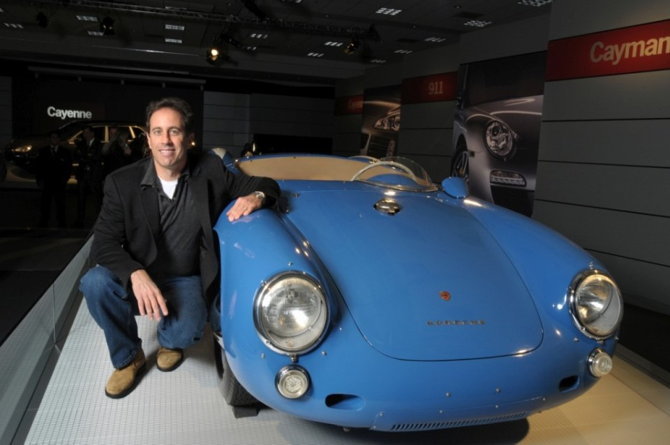 Jerry Seinfeld's Porsche Collection- blue 550 Spyder