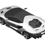 Lamborghini Centenario LP770-4 Patent Drawings-2016 Geneva Motor Show-2