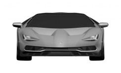Lamborghini Centenario LP770-4 Patent Drawings-2016 Geneva Motor Show-3