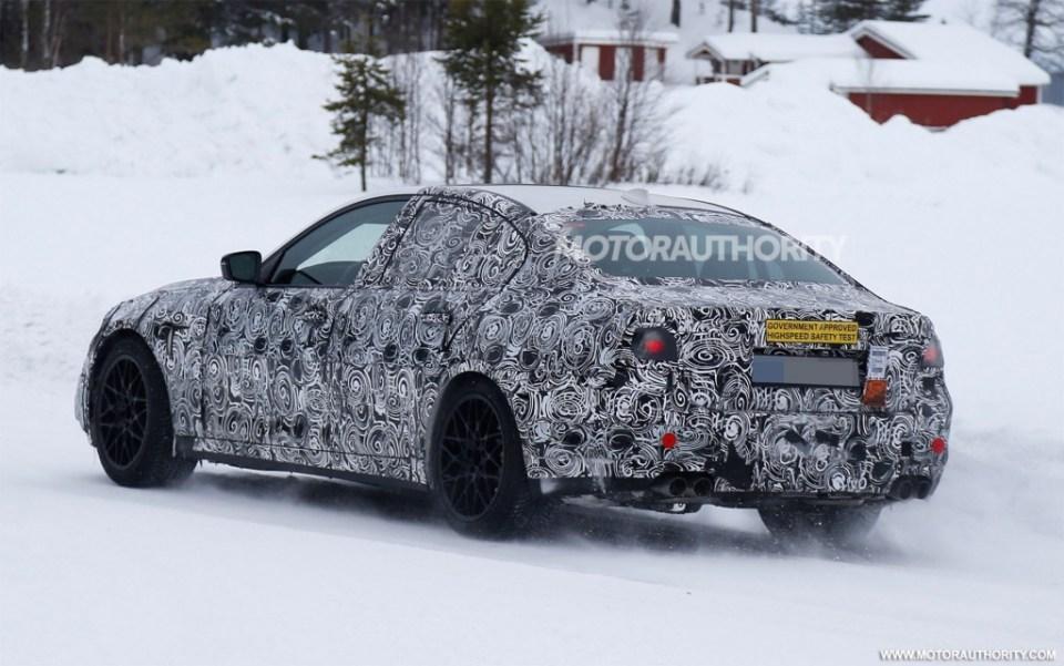 2018 BMW M5 Spy Shots-2