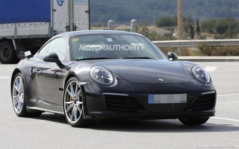 2019 Porsche 911 Prototype Caught Testing-1