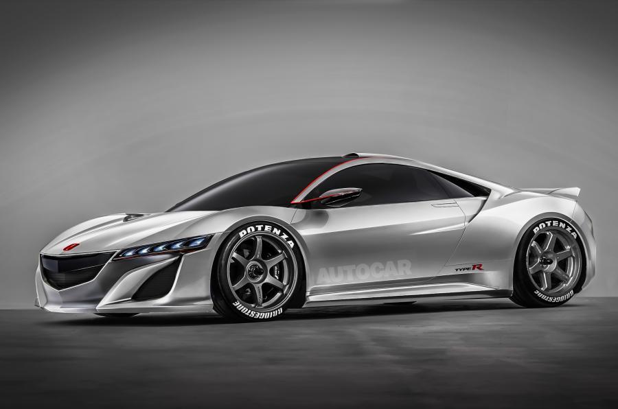 Acura NSX Type R rendering
