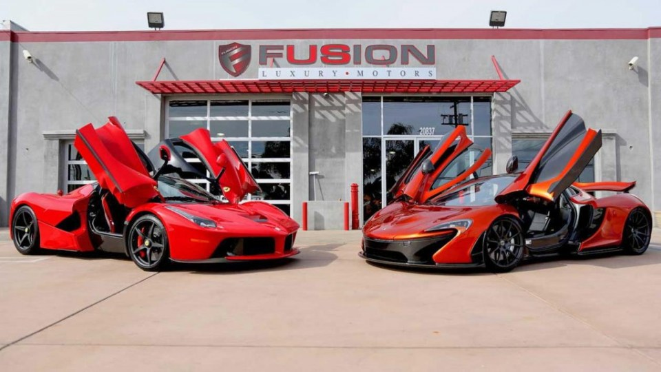 LaFerrari, McLaren P1 for sale in USA