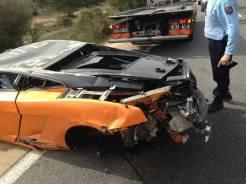 Lamborghini Bicolore Crash in France-4
